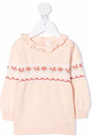 Chloé Sweaters - Fair isle intarsia knit jumper