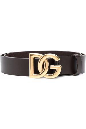Dolce & Gabbana DG crossed logo belt