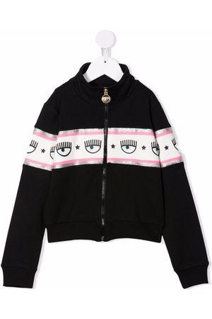Chiara Ferragni Eye print jacket