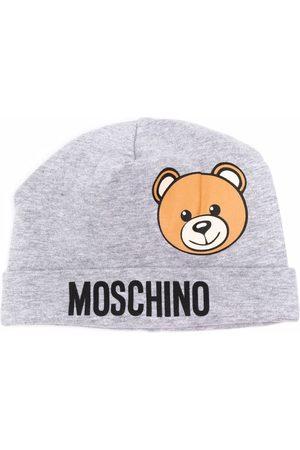 Moschino Beanies - Logo-embellished beanie - Grey