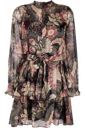 Twin-Set Women Casual Dresses - Paisley-print shirt dress - Neutrals