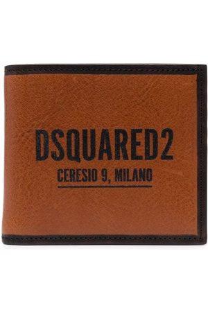 Dsquared2 Men Wallets - Logo-print bifold wallet