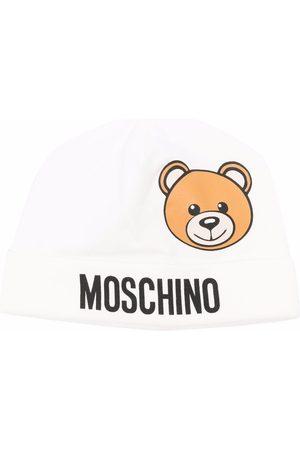 Moschino Teddy bear-print beanie