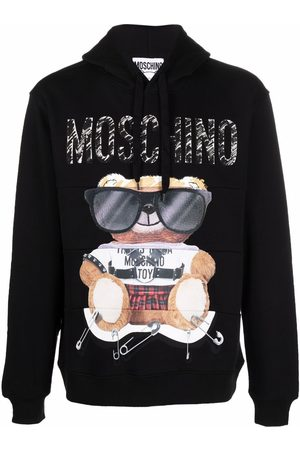 Moschino Toy Bear print hoodie
