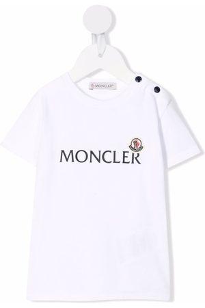 Moncler Logo-print cotton T-shirt