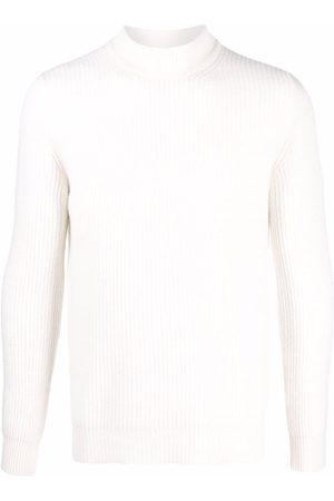 Roberto Collina Roll-neck rib-trimmed jumper