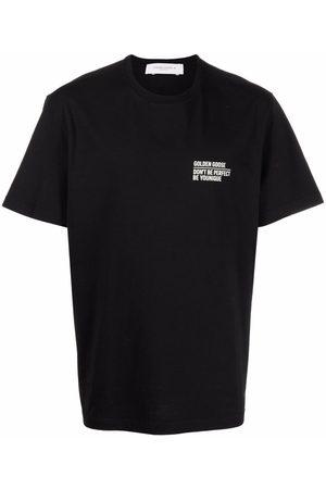 Golden Goose Logo-print short-sleeved T-shirt