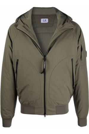 C.P. Company Men Puffer Jackets - Hooded padded jacket