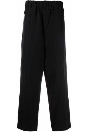 Jil Sander Men Straight Leg Pants - Elasticated-waist straight-leg trousers