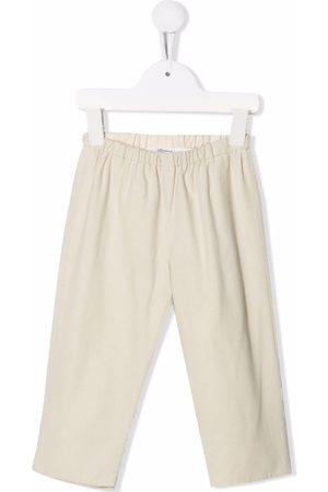 BONPOINT Straight-leg cotton trousers - Neutrals