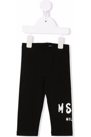 Msgm Logo-print leggings