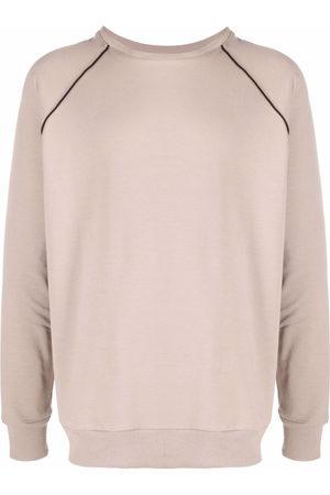 Alchemy Contrasting stripe detail sweatshirt - Neutrals