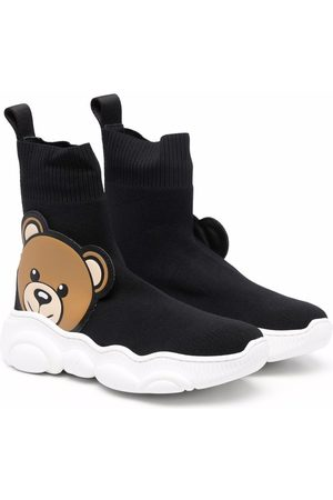 Moschino Boys Ankle Boots - Teddy bear ankle boots