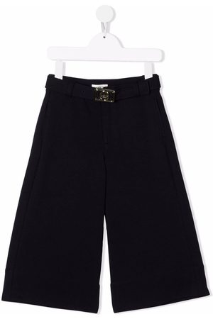 Lanvin Buckle-detail tailored trousers