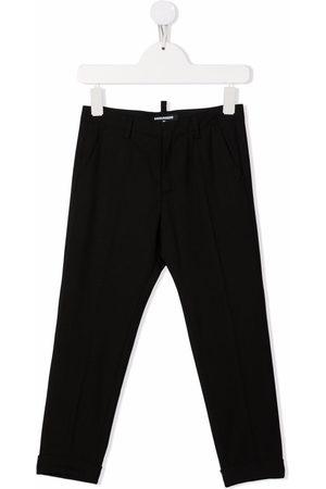 Dsquared2 Boys Pants - Rear logo-print trousers