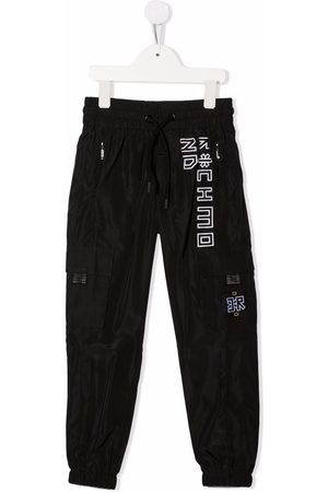 John Richmond Junior Boys Sweatpants - Logo-print track pants