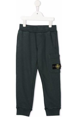 Stone Island Boys Sweatpants - Logo patch track pants