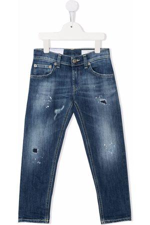 DONDUP KIDS Boys Slim - Slim-cut faded jeans