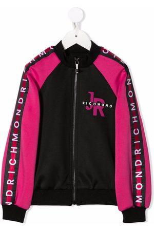 John Richmond Junior Colour-block bomber jacket