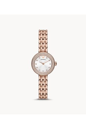 Womens Emporio Armani Women's Two-Hand -Tone Stainless Steel Watch