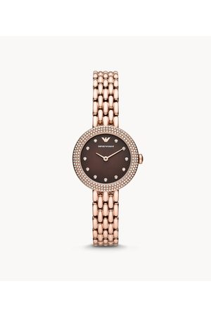 Womens Women Watches - Emporio Armani Women's Two-Hand -Tone Stainless Steel Watch