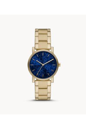 Womens Women Watches - DKNY Women's Soho Three-Hand -Tone Stainless Steel Watch