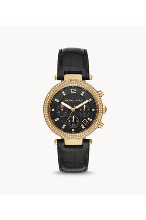 Womens Women Watches - Michael Kors Women's Parker Chronograph Leather Watch