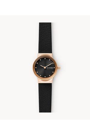 Womens Women Watches - Skagen Women's Freja Two-Hand Eco Leather Watch