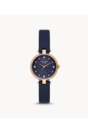 Womens Women Watches - Kate Spade New York Women's Annadale Navy Leather Watch