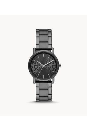 Womens DKNY Women's Soho Three-Hand -Tone Stainless Steel Watch