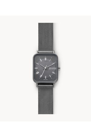 Womens Women Watches - Skagen Women's Ryle Solar-Powered -Tone Stainless Steel Mesh Watch