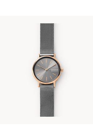 Mens Skagen Women's Signatur Two-Hand -Tone Stainless Steel Mesh Watch