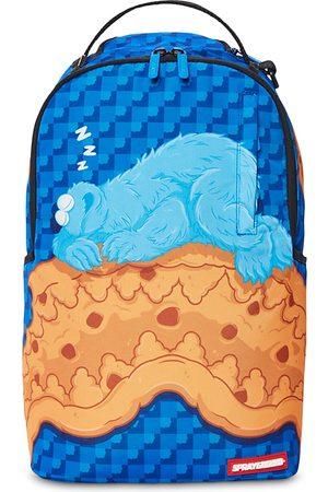 Sprayground Rucksacks - Cookie Monster Sleeping Backpack