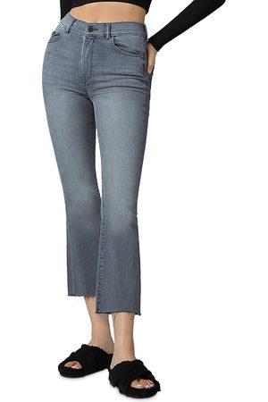 Dl Women Bootcut - 1961 Bridget High Rise Cropped Bootcut Jeans in Overcast Rain