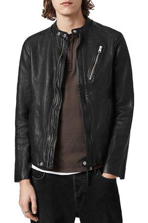 AllSaints Men Leather Jackets - Floyd Leather Regular Fit Jacket