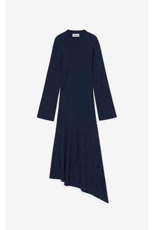 Kenzo Asymmetric midi dress