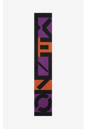 Kenzo Sport wool scarf