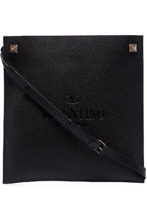 VALENTINO GARAVANI Identity Leather Messenger Bag
