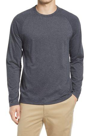 Vince Men's Broken Stripe Raglan Sleeve T-Shirt