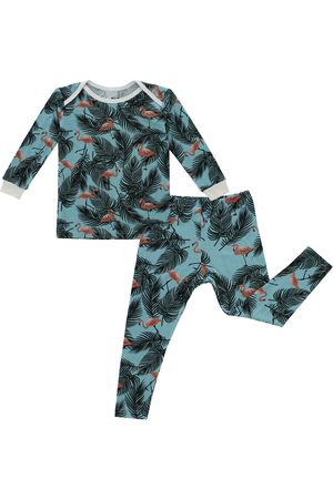 Peregrine Infant Girl's Flamingo Fitted Two-Piece Pajamas