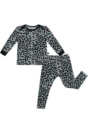 Peregrine Infant Girl's Mod Leopard Print Fitted Two-Piece Pajamas