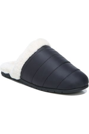 Vionic Women's Josephine Quilted Faux Fur Lined Slipper
