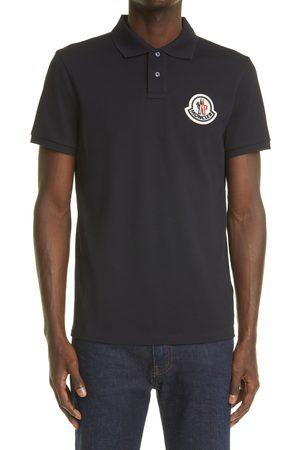 Moncler Men's 3D Logo Patch Cotton Pique Polo