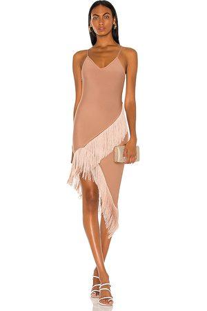 ELLIATT X REVOLVE Claire Dress in Taupe.