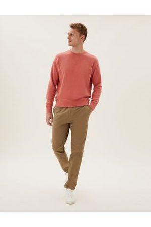 Marks & Spencer Men Sweatpants - Organic Cotton Stretch Joggers