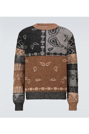 Alanui Men Sweaters - Las Cuevas wool and alpaca sweater