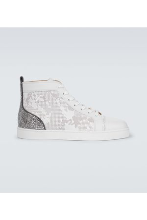 Christian Louboutin Louis Sp Strass high-top sneakers
