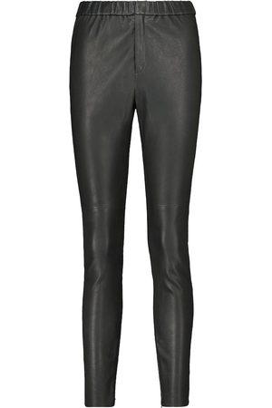 Isabel Marant Women Leather Pants - Iany straight-leg leather pants