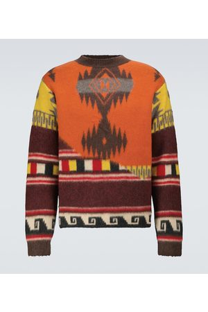 Alanui Over the Andes wool sweater