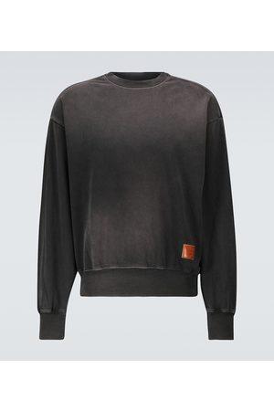 Acne Studios Fiah Spray Face cotton-jersey sweatshirt